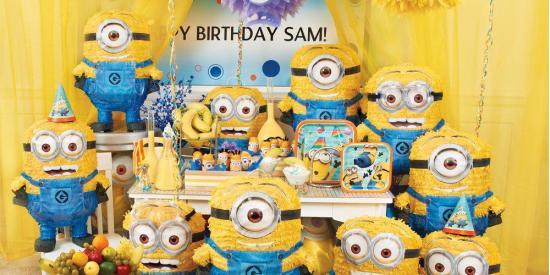 Minion Despicable Me Birthday Party