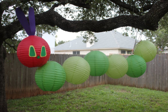 The Very Hungry Caterpillar Paper Lantern Caterpillar
