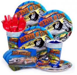 Racing Car Birthday Party tableware