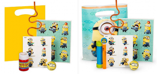minions birthday party favors