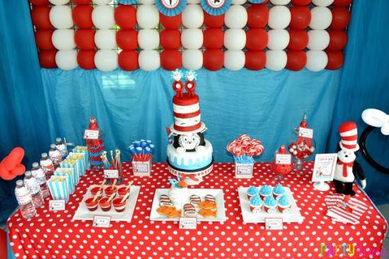 Dr. Seuss Cat in the Hat & Thing One Thing Two