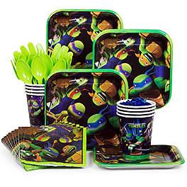 Ninja Turtle Birthday Party Ideas party set