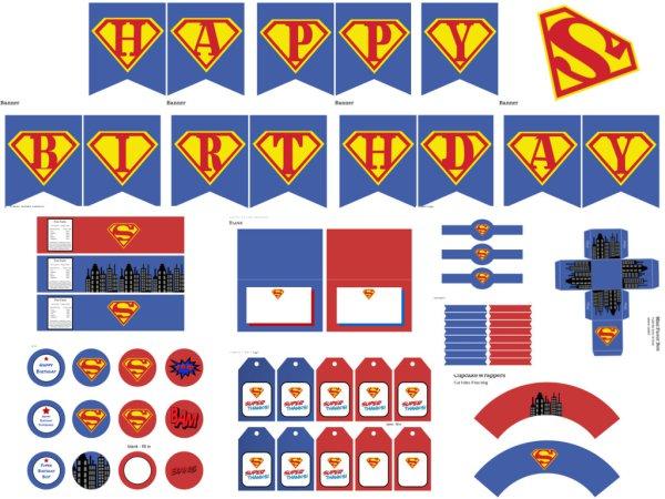 Supergirl Superman Birthday Party Ideas Birthday Party Ideas
