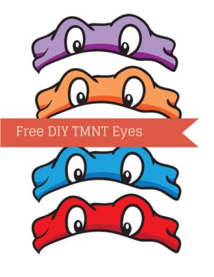 ninja turtle TMNT Eyes
