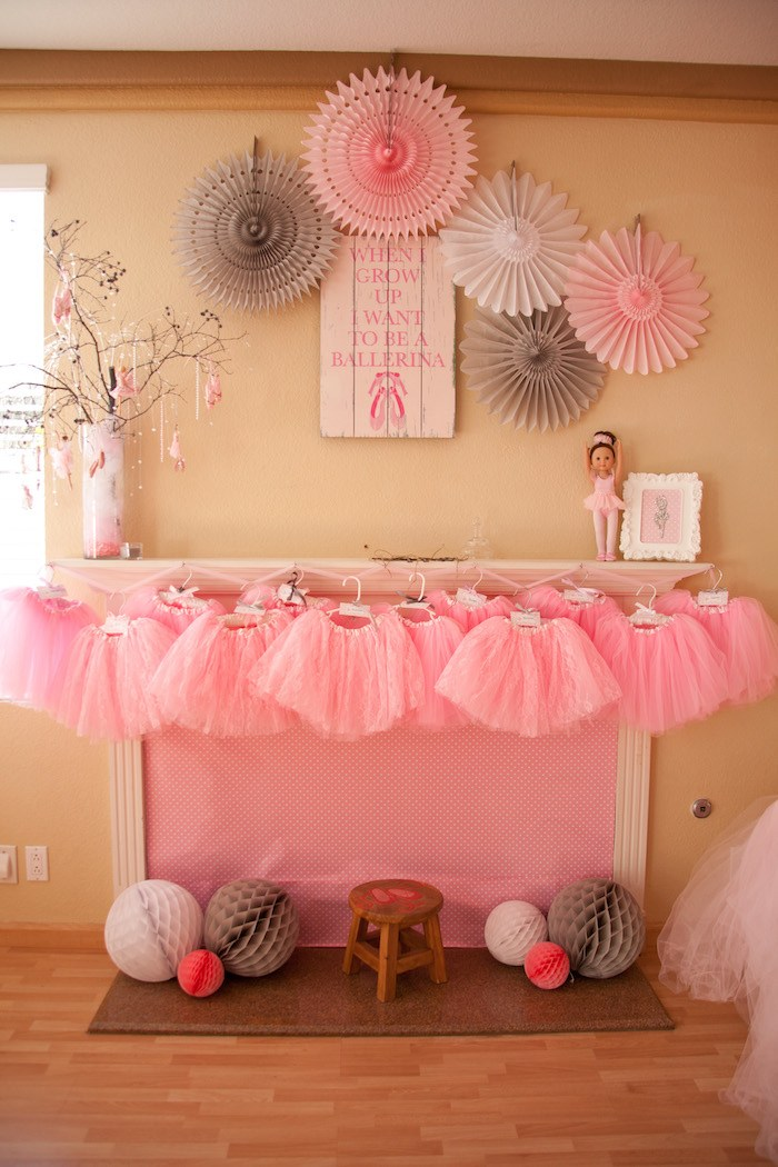 tiny dancer birthday party