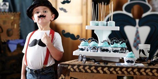 Mustache Birthday Party Ideas