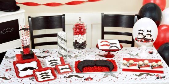 mad Mustache Birthday Party Ideas