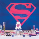 Supergirl Birthday Party in Pink & Blue