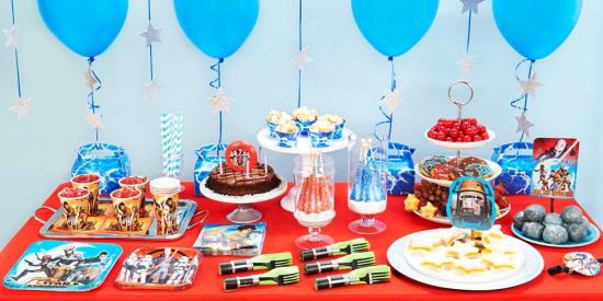 Star Wars Rebel Birthday Party Ideas Decorations Supplies