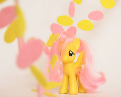 My little pony birthday decoration - Garland