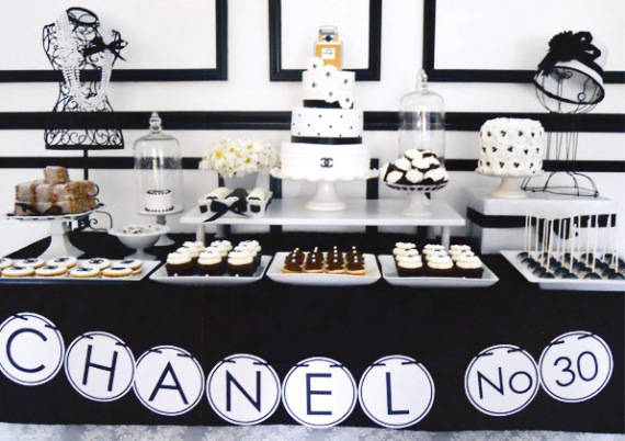 chic-coco-chanel-inspired-30th-birthday-treats