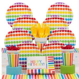 tableware_rainbow_polka_dots