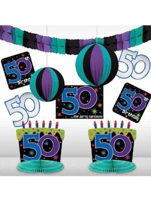 50th Birthday Decorating