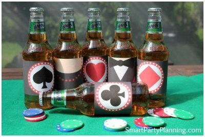 Casino Beer Labels