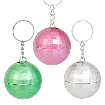 Disco Ball Key Tag
