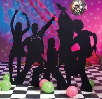 Disco Party Theme Decor