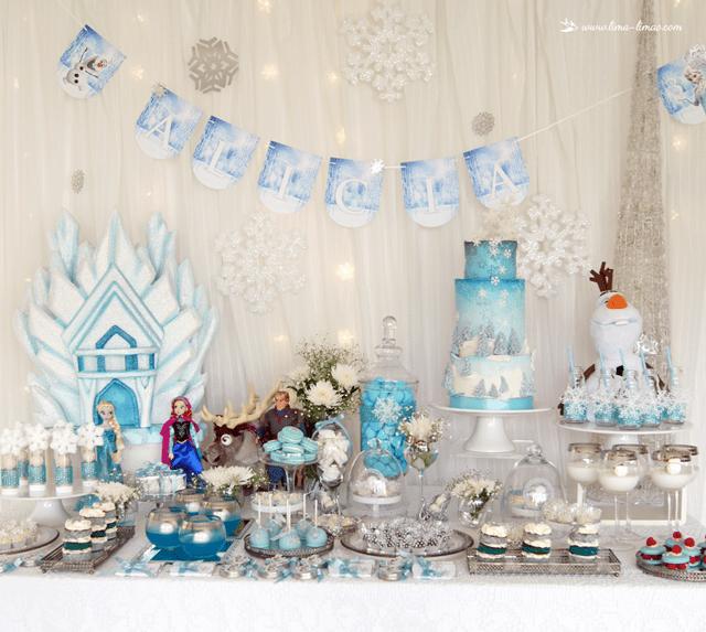 Glamorous Frozen Birthday Party