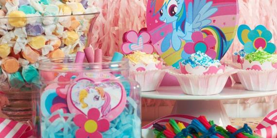 My Little Pony Friendship Magic Party package