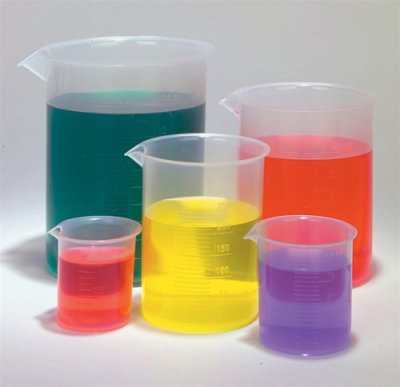 mad science party ideas and supplies Plastic Beaker Set