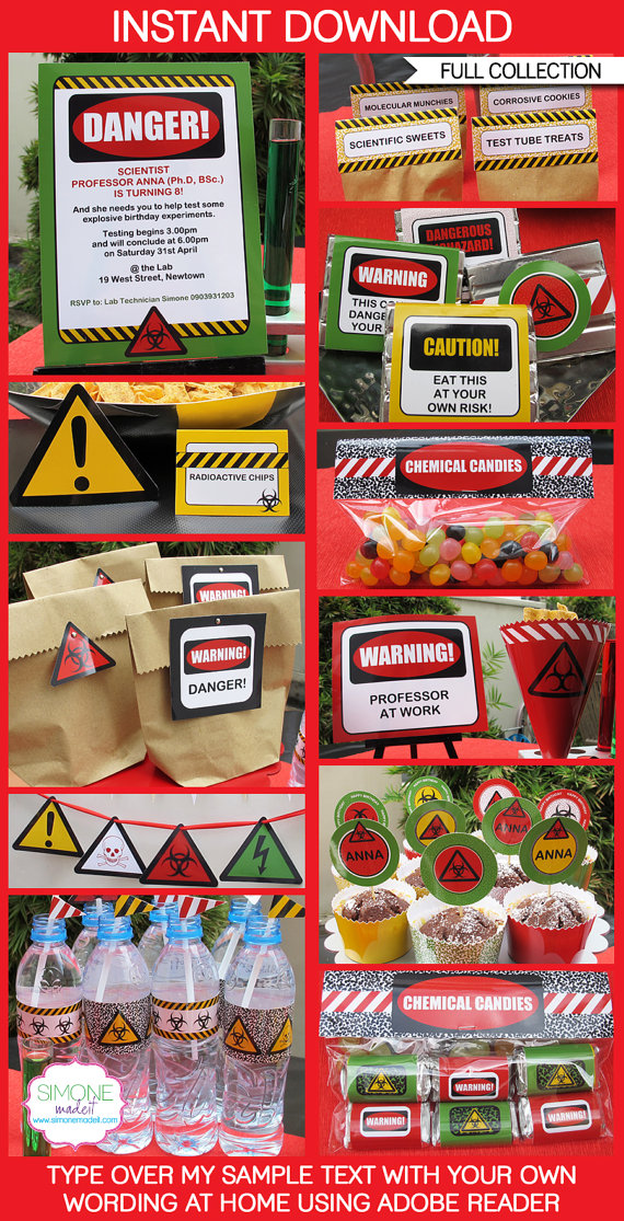 Science Party Ideas - Birthday Party Ideas & Themes