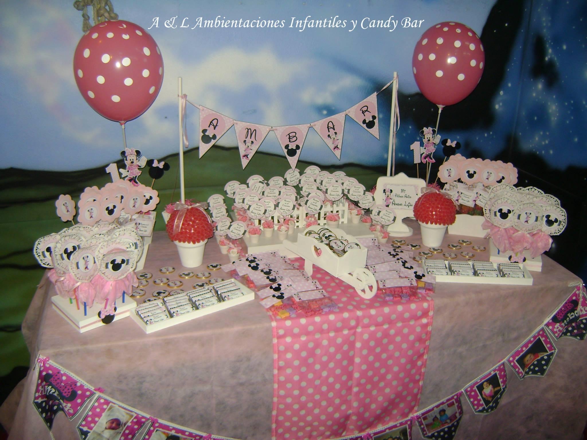 Polka dot minnie mouse party birthday party ideas themes for Polka dot party ideas