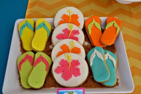 teen-beach-movie-birthday-party-ideas-cookies