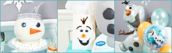 Olaf-Themed Party Ideas party bags