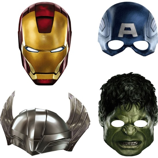 The Avengers Masks