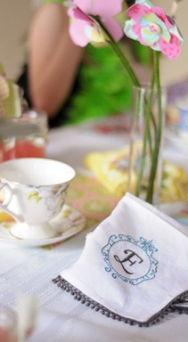 Vintage Inspired Tea Party decoration
