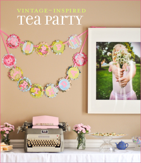 Vintage Inspired Tea Party