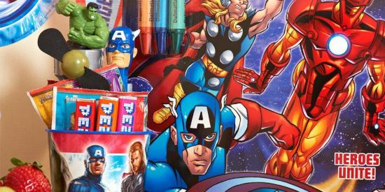 avengers birthday party supplies and ideas
