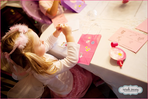 Fairy Sweet Magic Birthday Party bag making activities