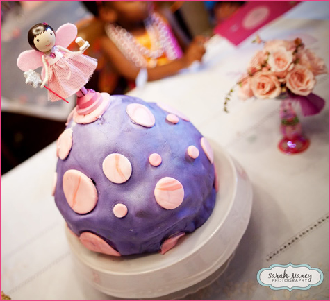 Sweet Fairy Birthday Party cake