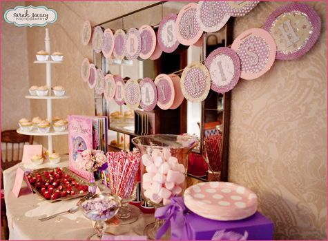 Sweet Fairy Birthday Party dessert table