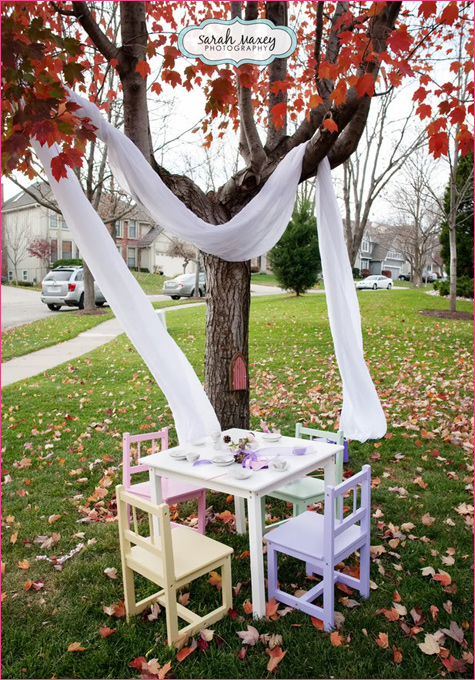 Sweet Fairy Birthday tea party decors