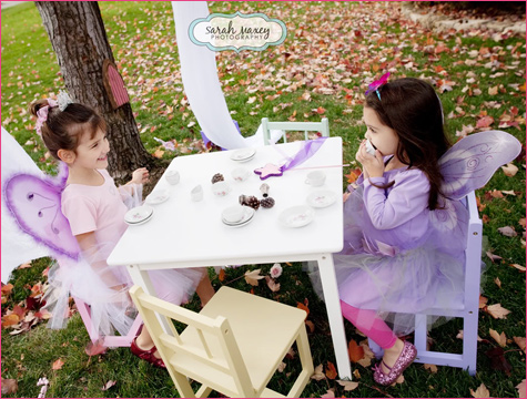Sweet Fairy Birthday tea party