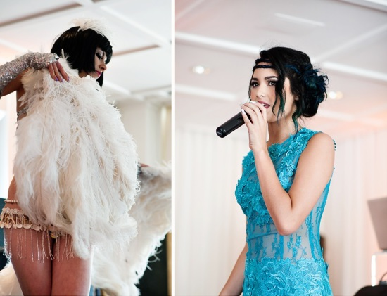 Derby & Roaring Gatsby Birthday Party dressed up in art deco style