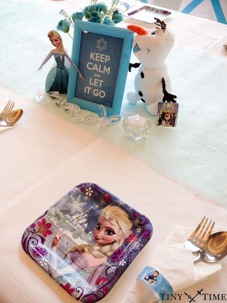 Frozen Birthday Party - Birthday Party Ideas & Themes