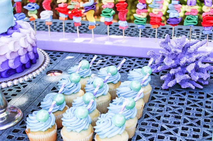 Little Mermaid Inspired Party - Birthday Party Ideas & Themes