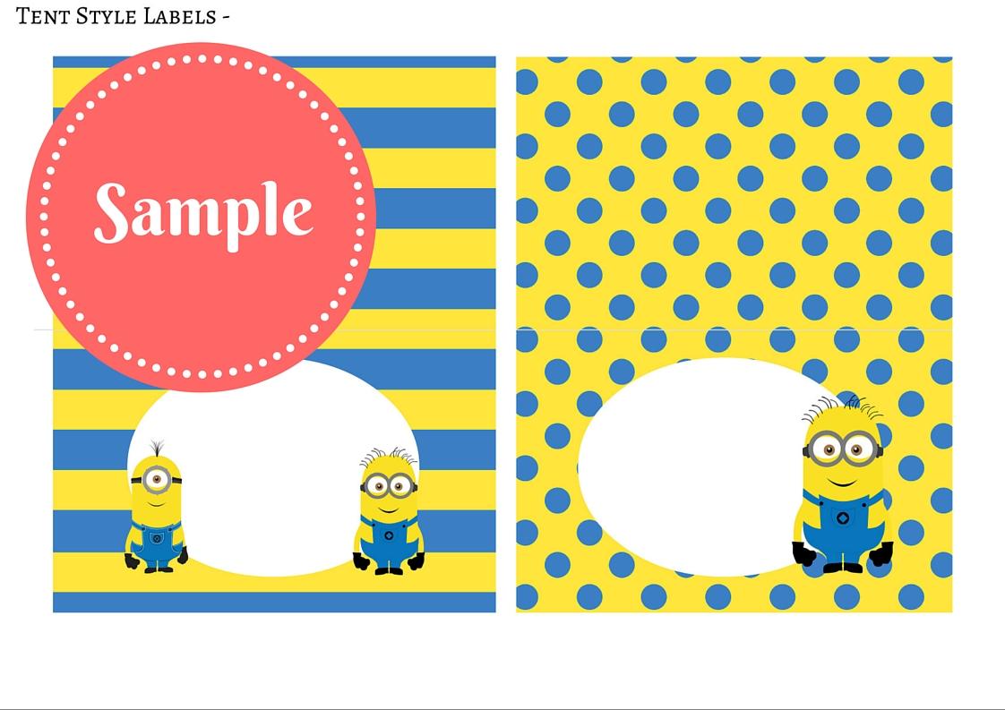 free minion party printable birthday party ideas u0026 themes