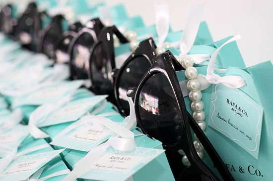 breakfast-at-tiffanys-birthday-party take home favors
