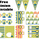 FREE Minion Party Printable