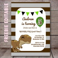 free-editable-dinosaur-invitation