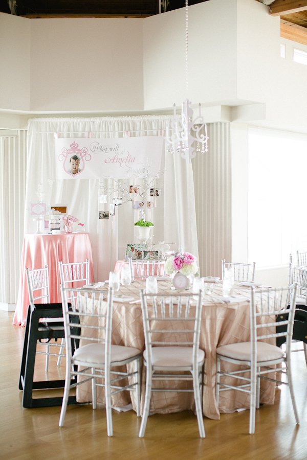 Elegant, Royal First Birthday Party - Birthday Party Ideas & Themes