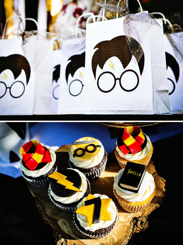 Personalized Harry Potter Cake