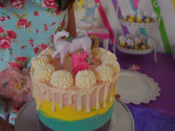 Rainbow-Unicorn-Birthday-Party-Cake