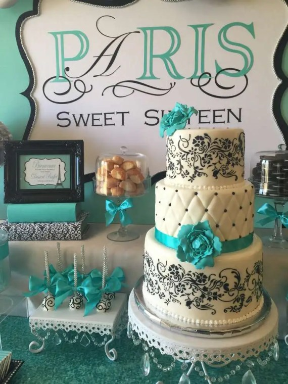 sweet sixteen paris style birthday birthday party ideas themes. Black Bedroom Furniture Sets. Home Design Ideas