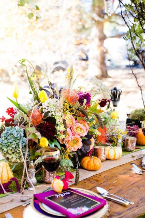 Colorful-Autumn-Outdoor-Party-Centerpieces