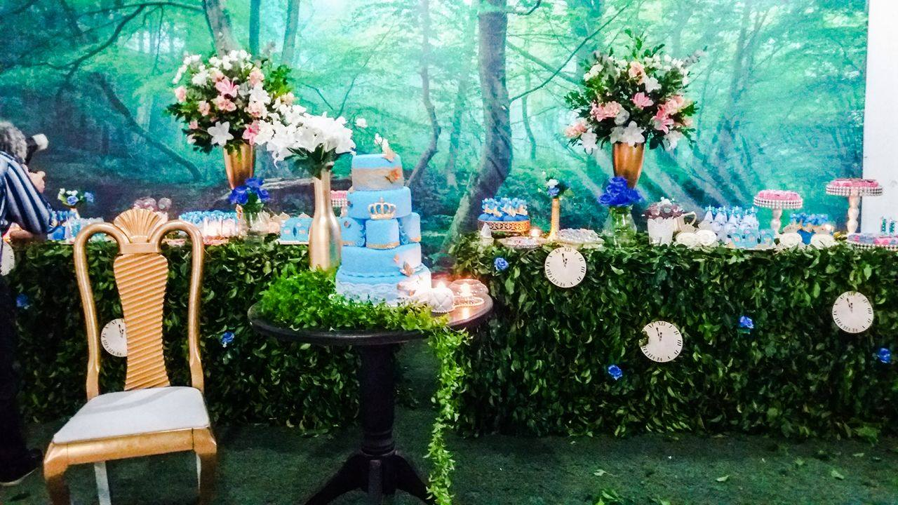 Enchanted Forest Cinderella Party - Birthday Party Ideas