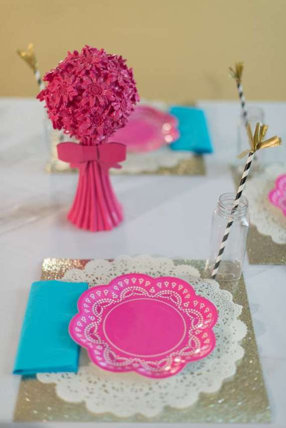 Glittering-Spa-Birthday-Party-Plates
